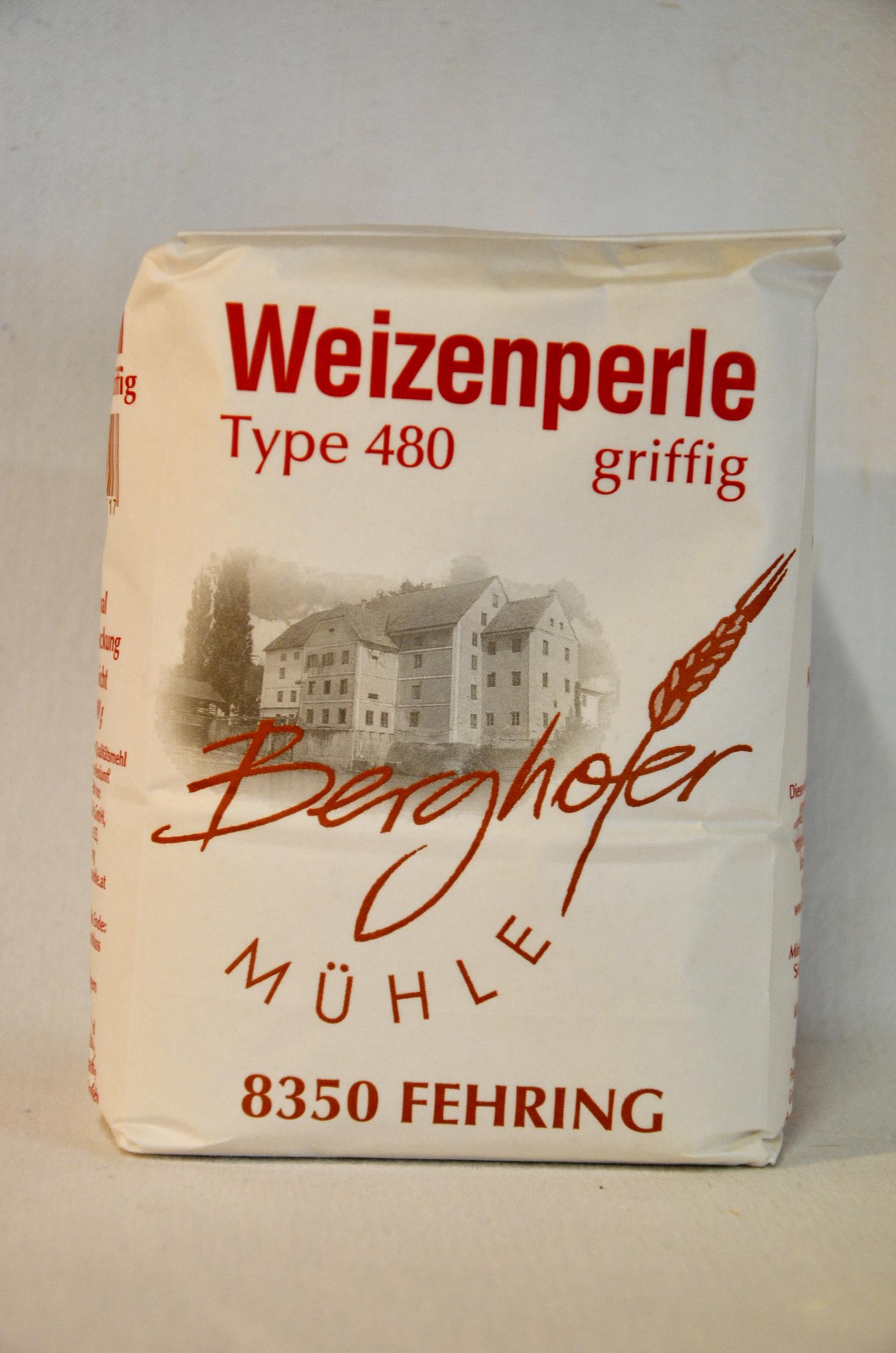 Weizenmehl Griffig