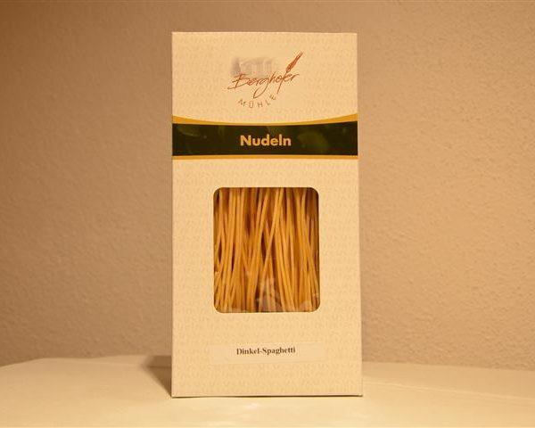 Dinkel-Spaghetti