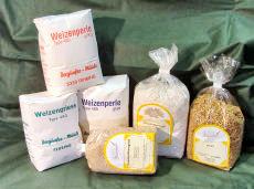 Getreide, Mehle, Getreideprodukte