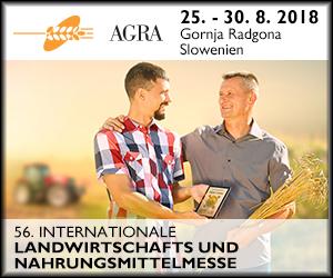 56. AGRA, die größte und bedeutendste Landwirtschafts- und Nahrungsmittelmesse in Mitteleuropa