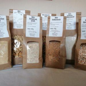 BIO Getreide, Mehle, Getreideprodukte